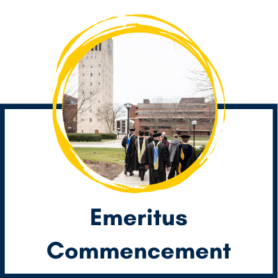 Emeritus Commencement Event Page