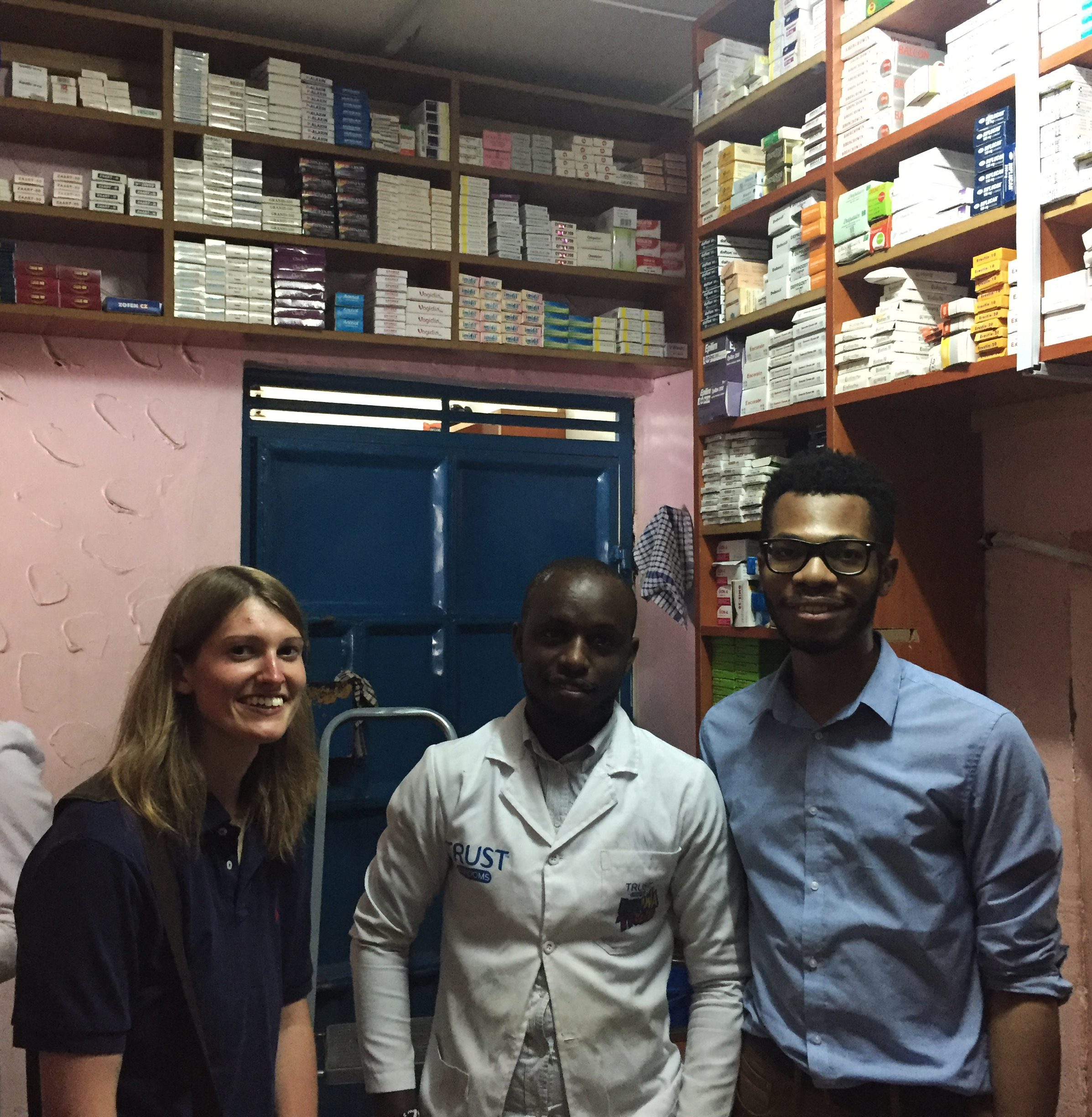 Taylor and Blaise learned about Kenyan pharmacy practice in Kenya.
