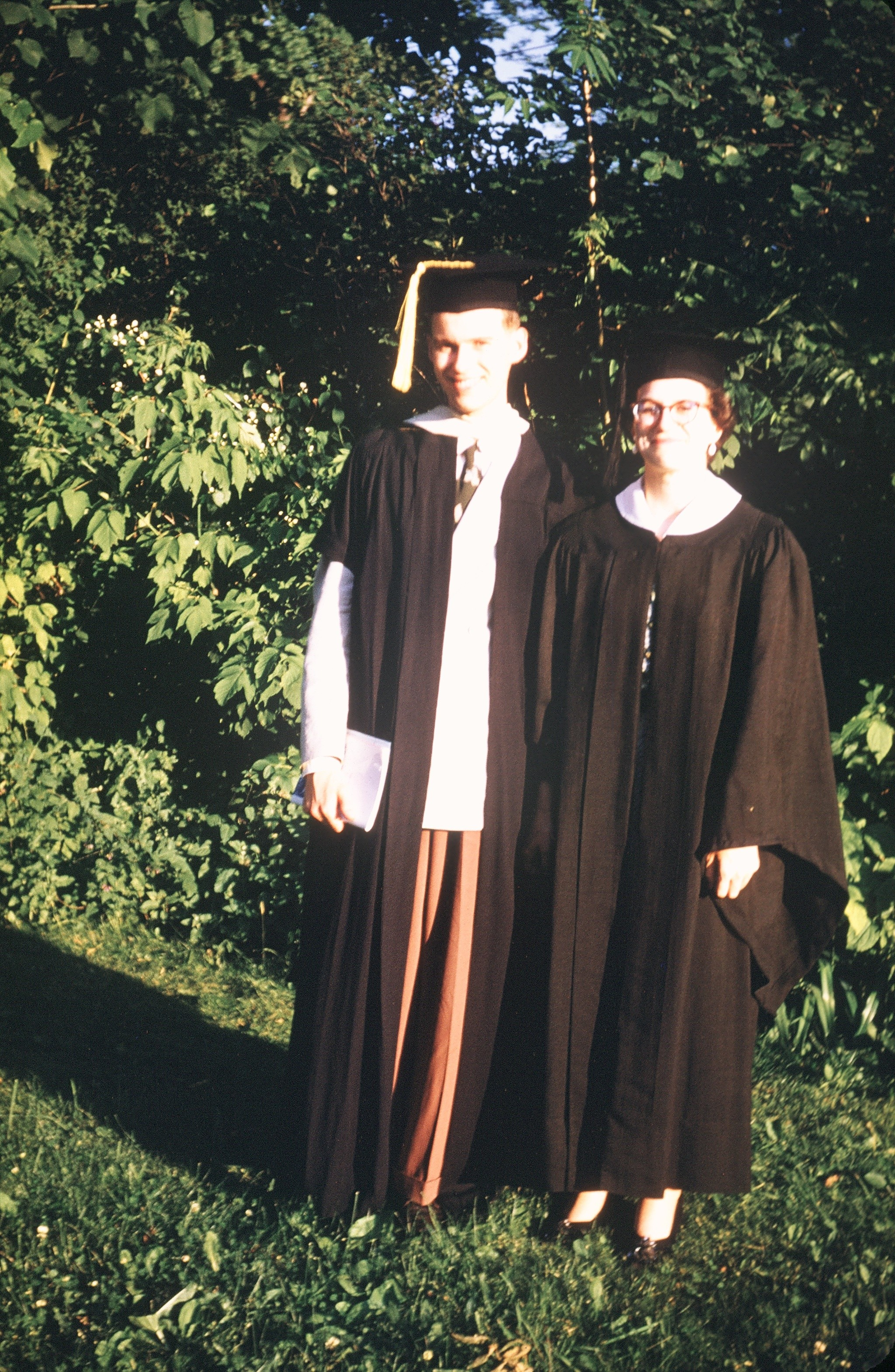 Letitia Lingle Bell on her graduation day at the University of Michigan