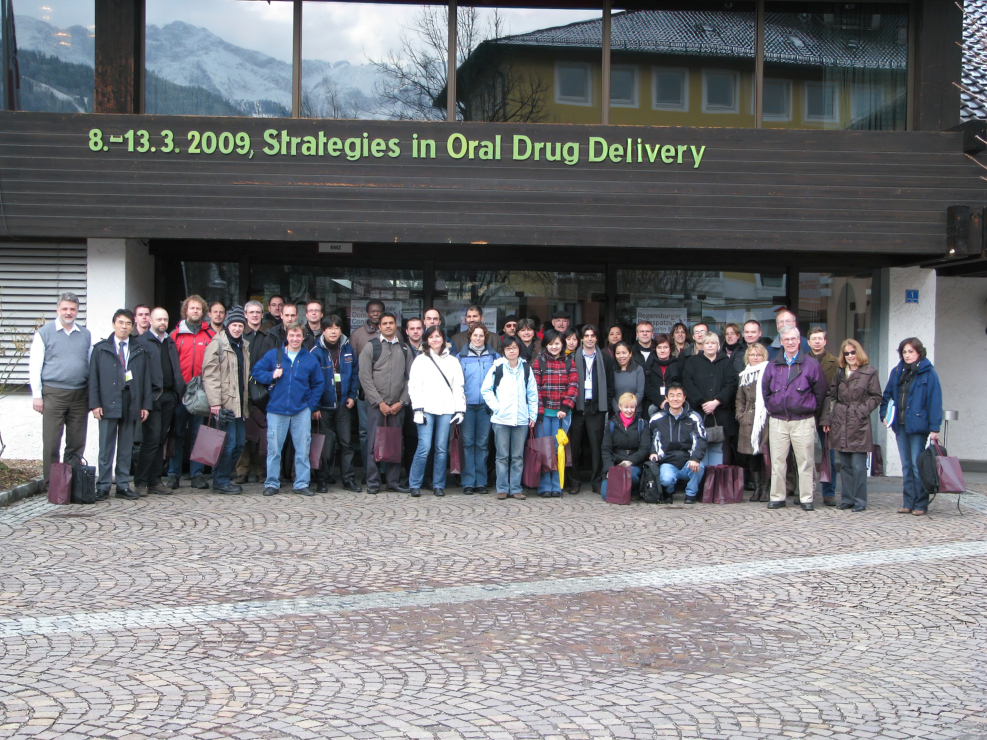 The Oral Drug Delivery Conference, taken in Germany in 2009