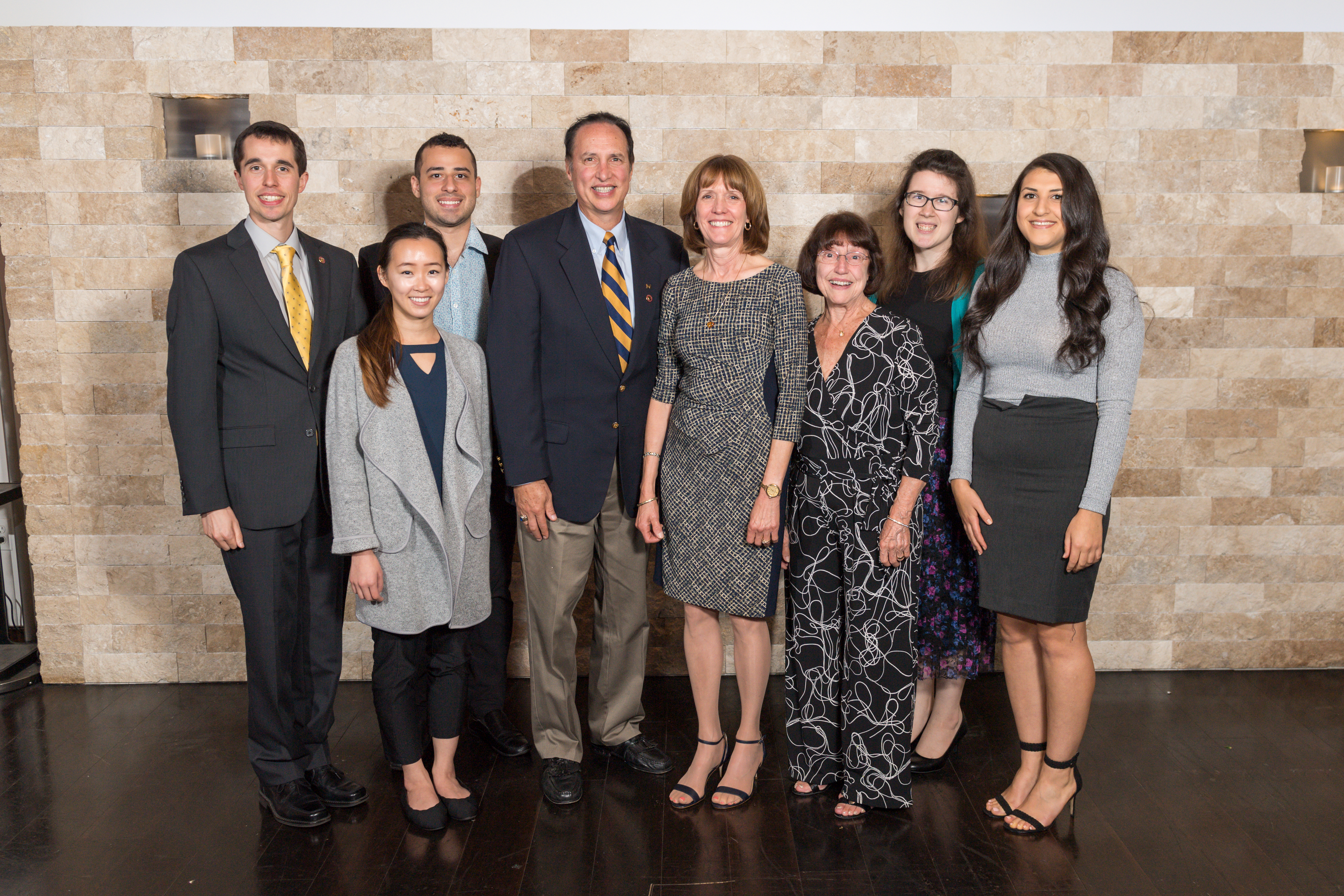 Students and donors meet at the annual Prescott Celebration