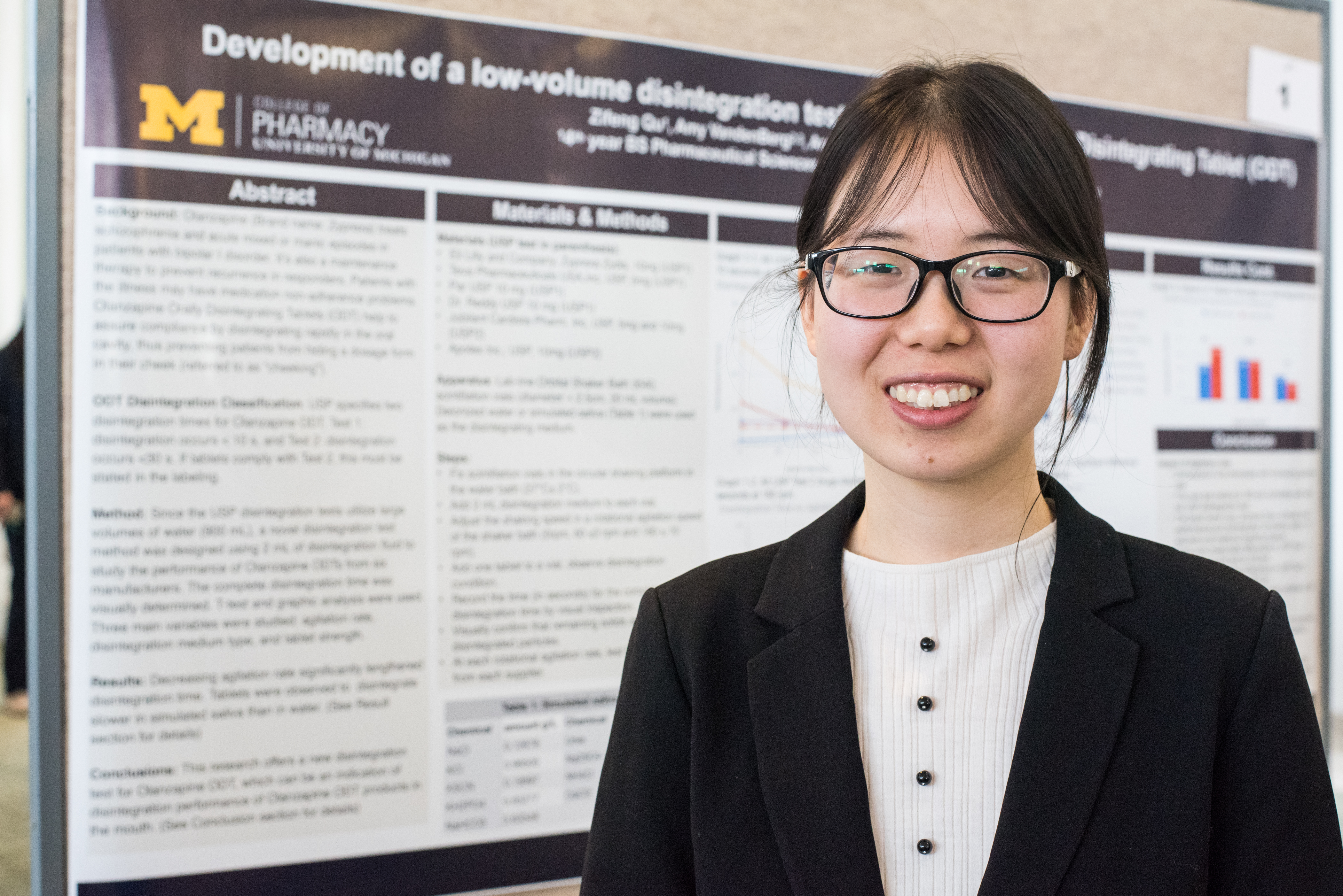 Zifeng Qu, BSPS'19, at Research Forum