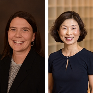 Drs. Amy Thompson and Jeong Park