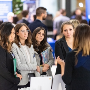 Pharmacy students connect with employers at Career Gateway