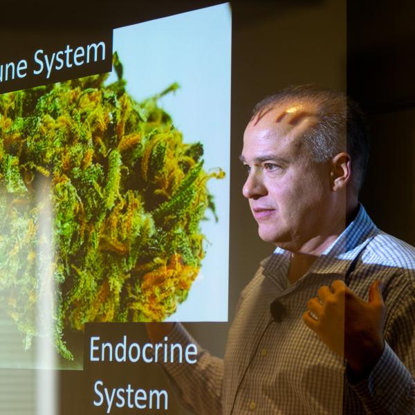 Prof. Gus Rosania teaches PharmSci 420