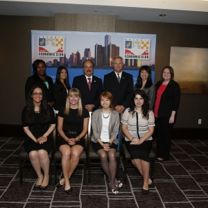 Students Network with Larry Merlo, President and CEO of CVS Caremark